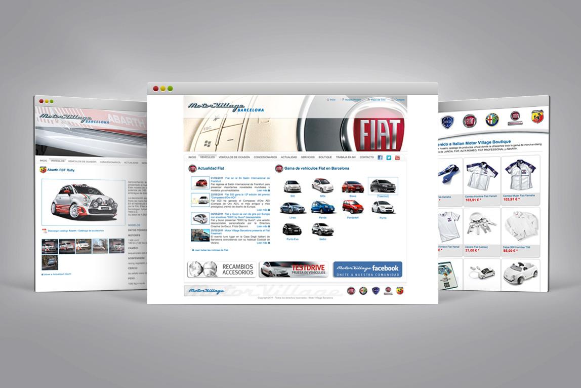 Web Italian Motor Village